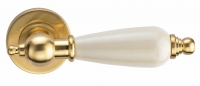 Genesis Redondo S.Gold (матовое золото/керамика слоновая кость)