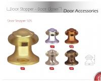 Упор дверной напольный, SIBA DS505 CP