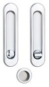 Ручки для раздвижных дверей с мех. wc Siba S223 CP